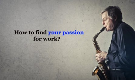How to find your passion for work